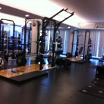 Athlets weight room